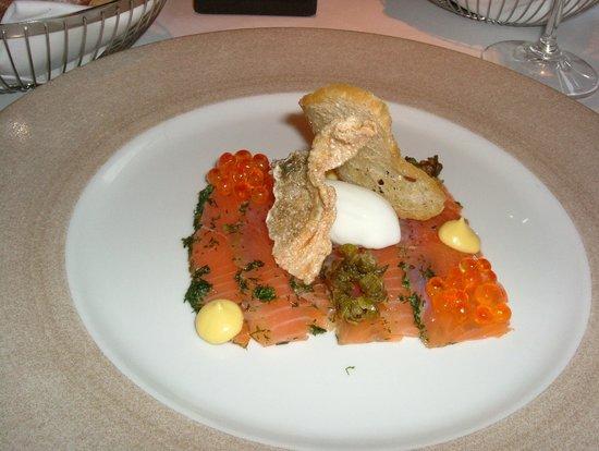 Linthwaite House : Smoked Salmon Starter