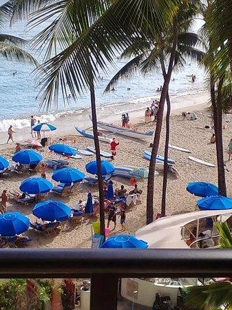 Outrigger Waikiki Beach Resort: oceanfront view