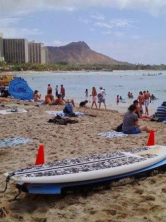 Outrigger Waikiki Beach Resort: Outrigger beachfront