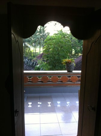 Nirwa Ubud Homestay : View from my room