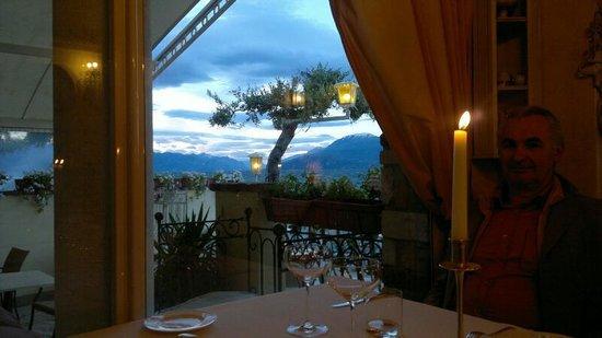 La Speranzina Restaurant & Relais: la vista dal nostro tavolo