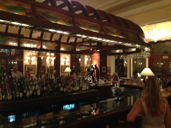 The Imperial Hotel: The bar
