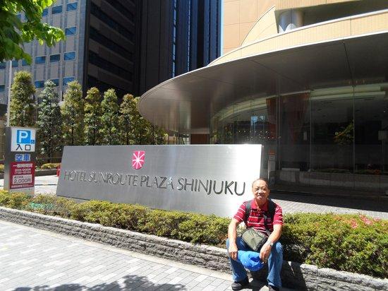 Hotel Sunroute Plaza Shinjuku : Hotel front