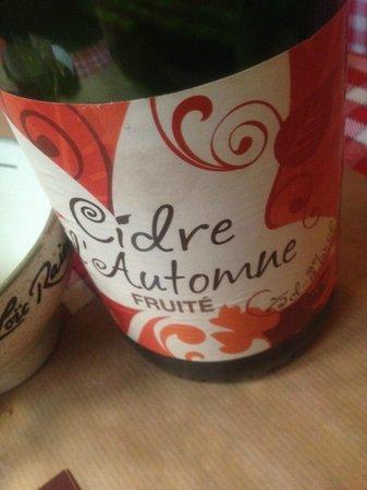 Crêperie Brocéliande : Il Cidre dolce