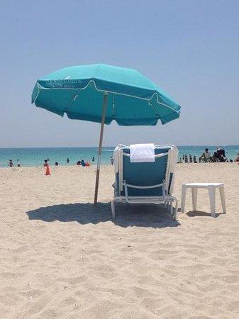 The Ritz-Carlton, South Beach: Beach Chairs