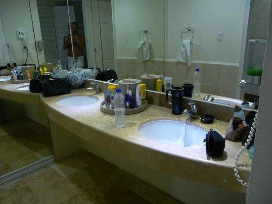 Viva Wyndham Azteca: Chambre de bain