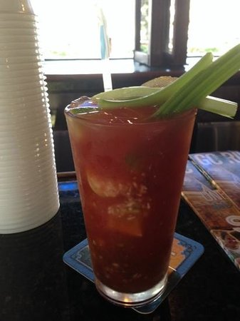 The Historic Downtowner: my bloody mary creation
