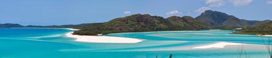 Whitehaven Beach : Panorama