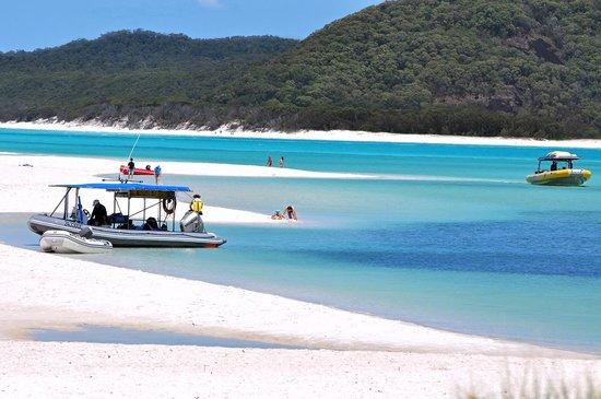 Whitehaven Beach: White sand