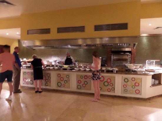 Now Larimar Punta Cana: show cooking - Parfait - En plus, jamais de queue !