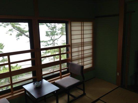 Nisshokan : 部屋からの眺め
