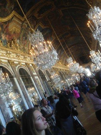 La Galerie des Glaces : Panoramica della sala