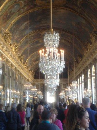 La Galerie des Glaces : Panoramica della sala 2