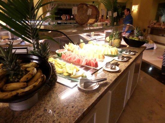Now Larimar Punta Cana: fruits frais en permanence