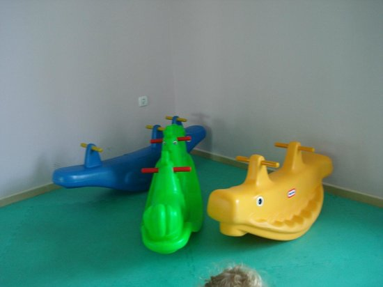 Ivana Palace Hotel: There is a nice play room on the first floor.