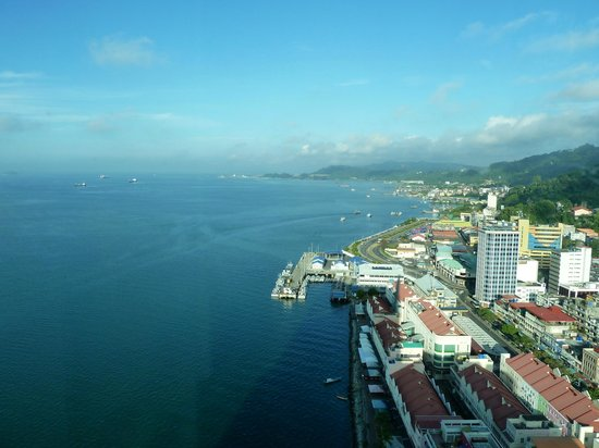 Four Points by Sheraton Sandakan : Fantastic view.