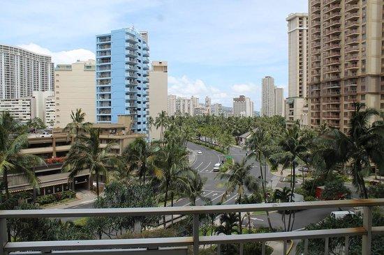 Waikiki Marina Resort at the Ilikai: view from room 503