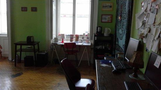 Goat Hostel: sitting room