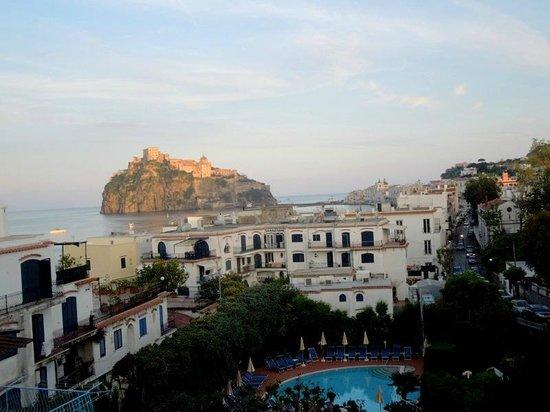 Hotel Ulisse : Вид с балкона