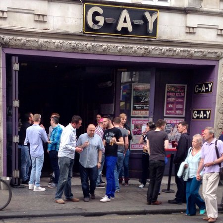 Gay bars pubs london