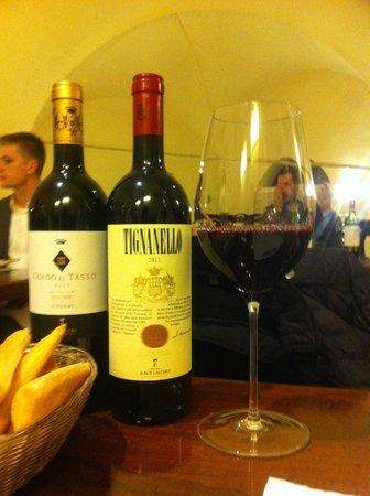 Cantinetta Antinori: Vino by the glass