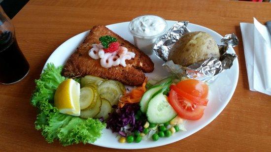 Otto & Ani's Fisk: Lachsfilet mit Ofenkartoffel