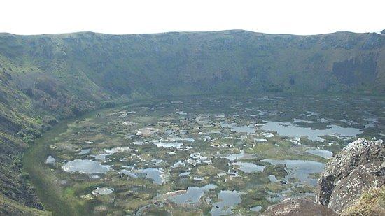 Poike Volcano: centro de poike