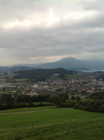 Hotel Himmelrich: view