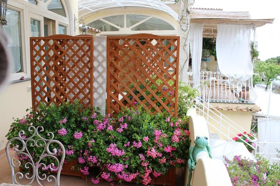 Villa Mary Suites: terrace (Calipso or Athena)
