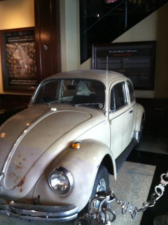 National Museum of Crime & Punishment : Ted bundys car!!