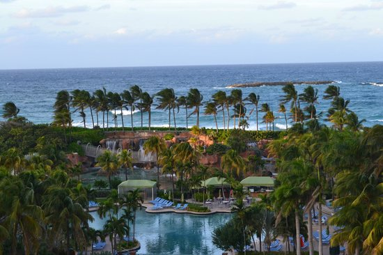The Beach at Atlantis, Autograph Collection: View from balcony CORAL TOWER