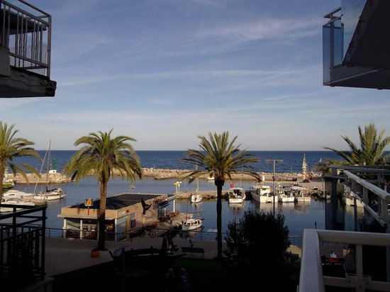 Hotel Cala Bona: The view from our balcony