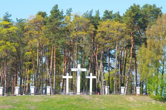 Aglona Basilica: Cemetery