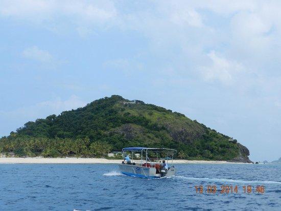 Matamanoa Island Resort: vista de la isla
