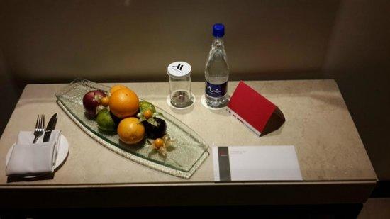 Bogota Marriott Hotel: FRUTAS EN LA HABITACIÓN