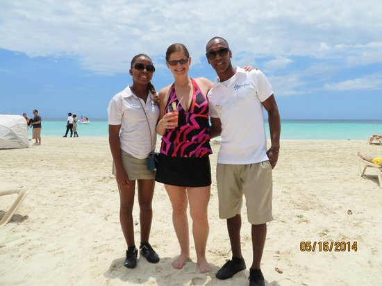 Beaches Negril Resort & Spa : Shelly, Caffery and I