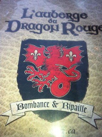 Auberge du Dragon Rouge : The medieval Red Dragon Auberge