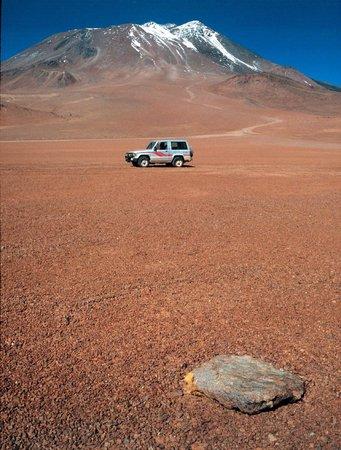 Volcan Llullaillaco: Der Llullaillaco von Südwesten