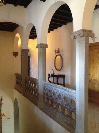 Villa Savelli: Corridoio