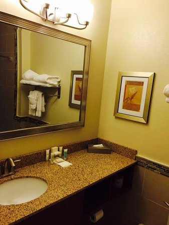 Best Western Plus Easton Inn & Suites : suite bathroom