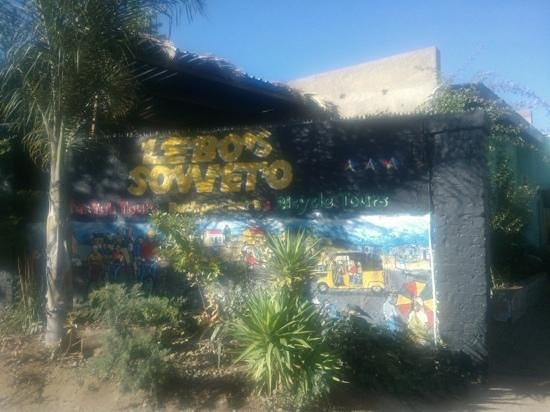 Lebo's Soweto Backpackers: lebos soweto backpackers, with loads of character!!!