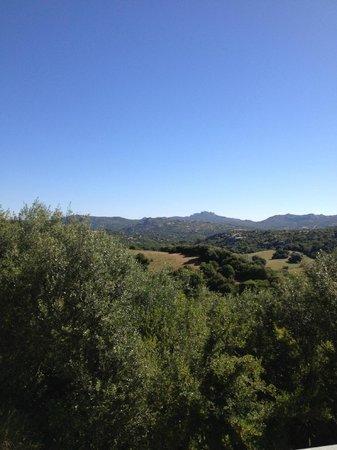 Agriturismo Terre di l'Alcu: The view from the terrace