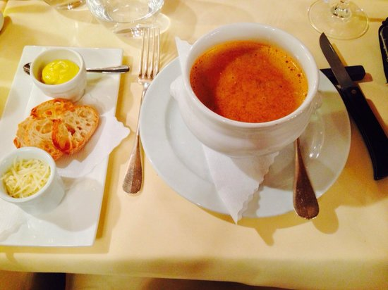 Le Moissonnier : Fish soup