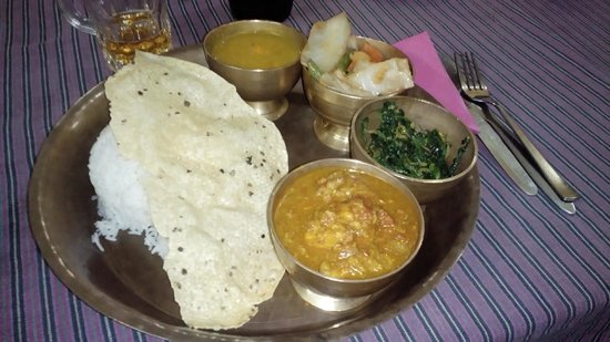 Planet Bhaktapur Hotel : una cena al Planet