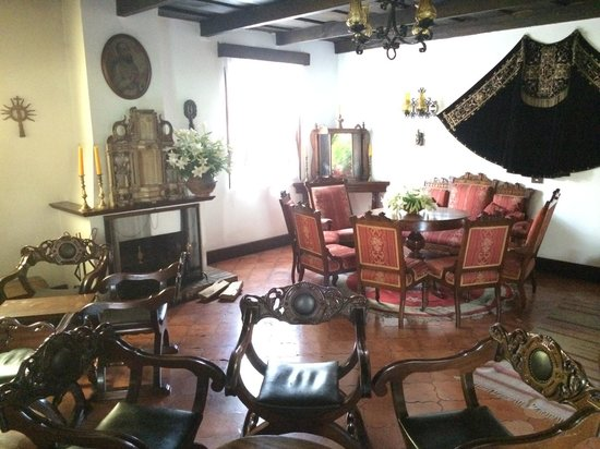 Santo Tomas Hotel: The sitting room
