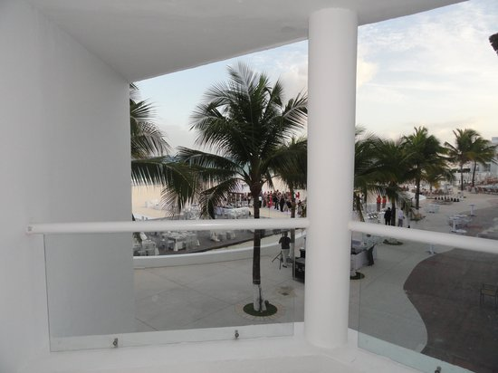 Playacar Palace: View from balcony