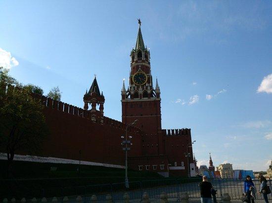Kremlin Walls and Towers : Spassky Clock