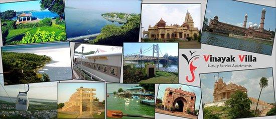 Vinayak Villa, Luxury Service Apartments : Places to visit displayed at Vinayak Villa, Bhopal.