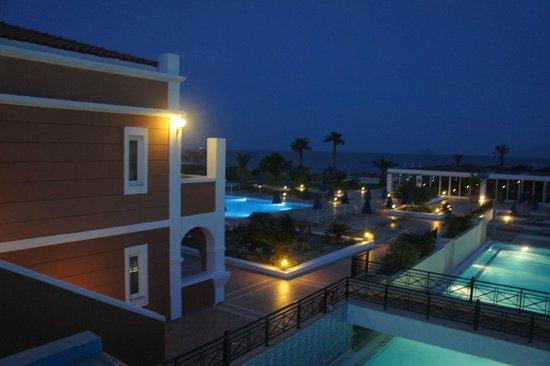 Atlantica Porto Bello Royal: The view from the hotel lobby bar.