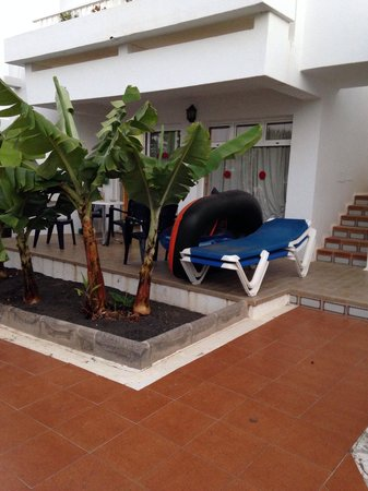 Hotel Floresta: Large patio 2x bedrooms